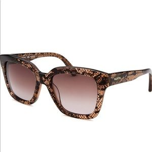Valentino brown lace pattern V667S sunglasses